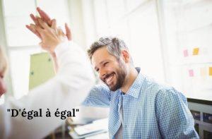 d'égal à égal : zen attitude au travail