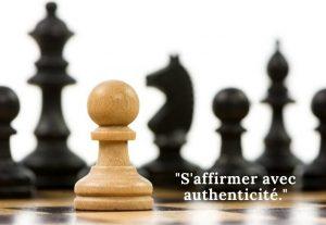 S'affirmer avec authenticité
