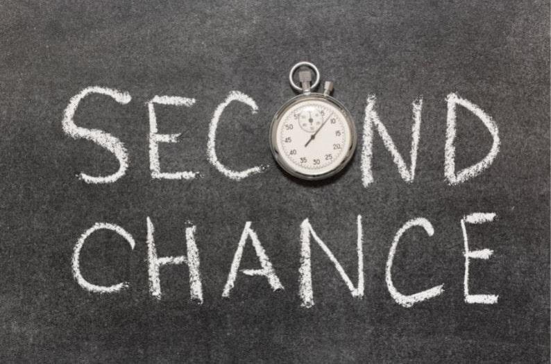Avez-vous sais votre deuxième chance ?